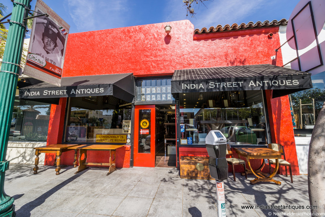 Look For India Street Antiques In The 1917 Red Building At India And Kalmia  Streets In San Diego.